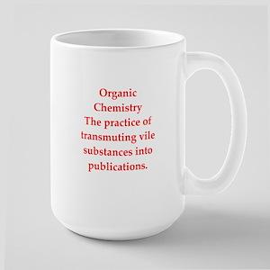 chemistry joke Large Mug