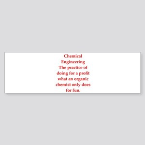 chemistry joke Sticker (Bumper)