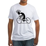 Kokopelli Road Cyclist Fitted T-Shirt