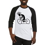 Kokopelli Road Cyclist Baseball Jersey