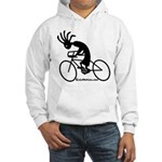 Kokopelli Road Cyclist Hooded Sweatshirt