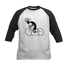 Kokopelli Road Cyclist Kids Baseball Jersey