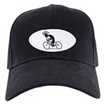 Kokopelli Road Cyclist Black Cap