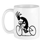 Kokopelli Road Cyclist Mug