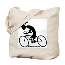Kokopelli Road Cyclist Tote Bag