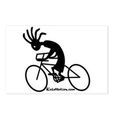 Kokopelli Road Cyclist Postcards (Package of 8)