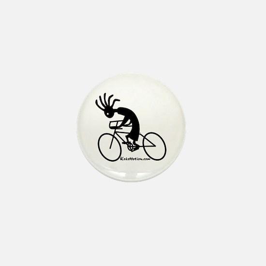 Kokopelli Road Cyclist Mini Button