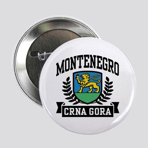 "Montenegro Coat of Arms 2.25"" Button"