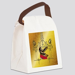 Isis the egyptian god Canvas Lunch Bag