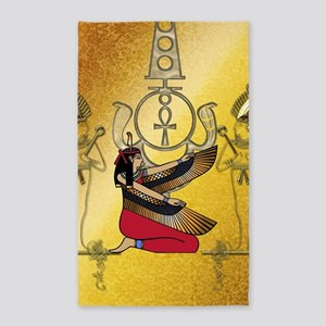 Isis the egyptian god Area Rug