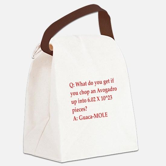 chemistry joke Canvas Lunch Bag