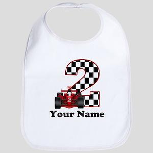 2nd Birthday Race Car Bib