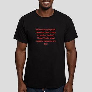 chemistry joke Men's Fitted T-Shirt (dark)