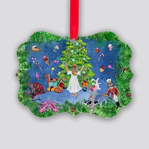 Nutcracker Christmas Ballet Picture Ornament
