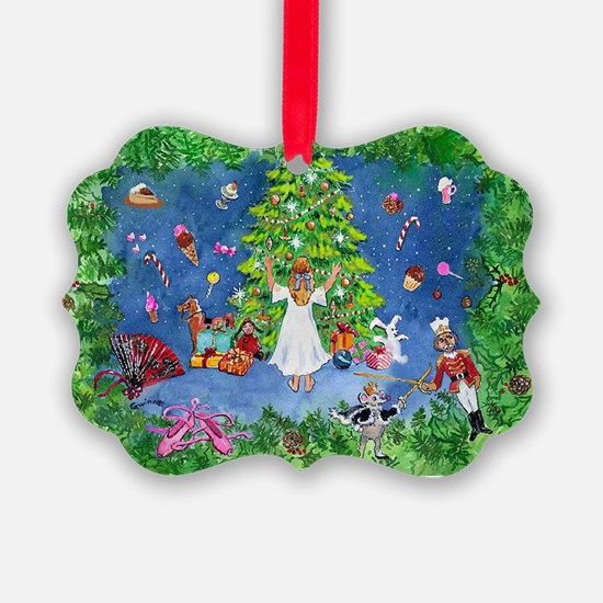 Nutcracker Christmas Ballet Ornament