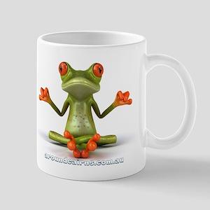 Around Cairns Zen Frog Mug