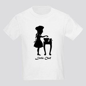 Little Chef and Mixing Bowl Kids Light T-Shirt