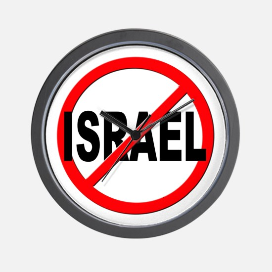 Anti / No Israel Wall Clock