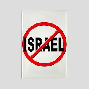 Anti / No Israel Rectangle Magnet