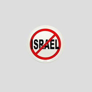 Anti / No Israel Mini Button