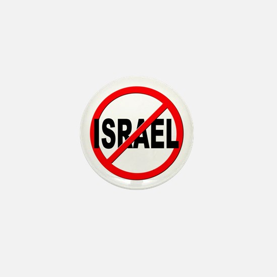 Anti / No Israel Mini Button