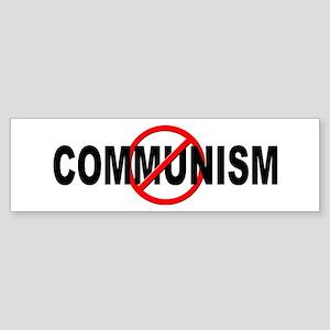 Anti / No Communism Sticker (Bumper)