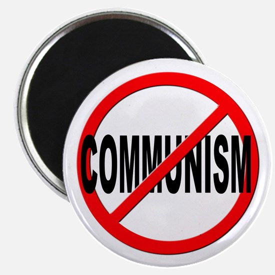 "Anti / No Communism 2.25"" Magnet (10 pack)"