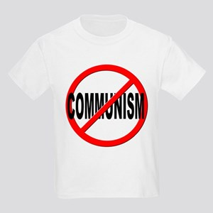 Anti / No Communism Kids Light T-Shirt