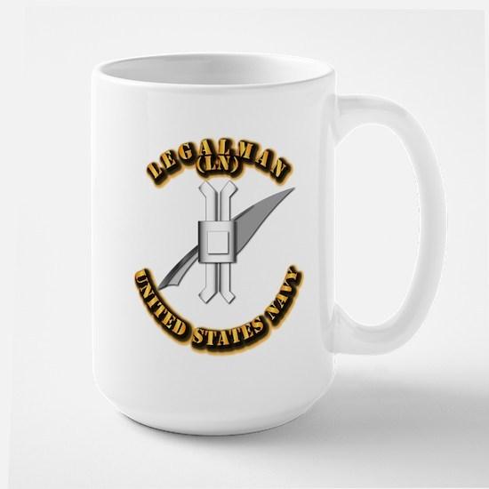 Navy - Rate - LN Large Mug