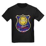 USS LEWIS AND CLARK Kids Dark T-Shirt