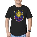 USS LEWIS AND CLARK Men's Fitted T-Shirt (dark)