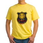 USS LEWIS AND CLARK Yellow T-Shirt