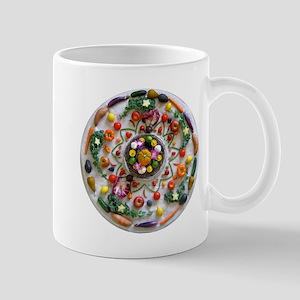 Fruit & Veggie Mandala Mug