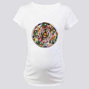Fruit & Veggie Mandala Maternity T-Shirt