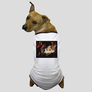 Christ in the Manger Dog T-Shirt