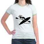 Kokopelli Kayaker Jr. Ringer T-Shirt