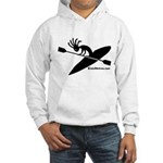 Kokopelli Kayaker Hooded Sweatshirt