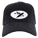 Kokopelli Kayaker Black Cap