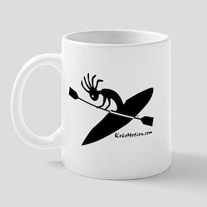 Kokopelli Kayaker Mug