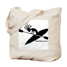 Kokopelli Kayaker Tote Bag