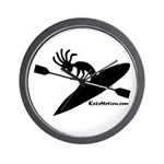 Kokopelli Kayaker Wall Clock