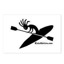Kokopelli Kayaker Postcards (Package of 8)