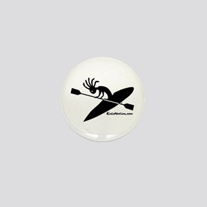 Kokopelli Kayaker Mini Button