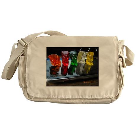 Gummy Bear Friends Messenger Bag