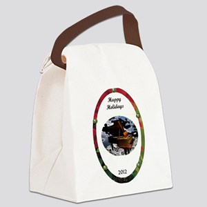 Grand Piano happiness Canvas Lunch Bag