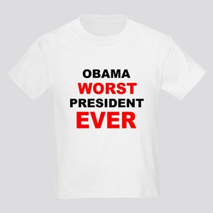 anti obama worst presdarkbumplL Kids Light T-S