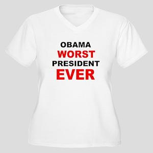 anti obama worst presdarkbumplL Women's Plus S