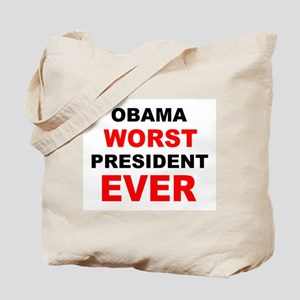 anti obama worst presdarkbumplL Tote Bag