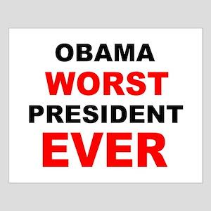 anti obama worst presdarkbumplL Small Poster