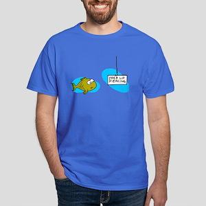 Lip Piercing Dark T-Shirt